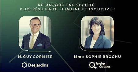 Coopérathon 2020 conférence inaugurale Desjardins Hydro-Québec