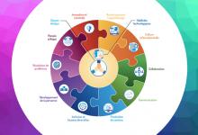 Les 12 dimensions présentées dans le Cadre de référence de la compétence numérique