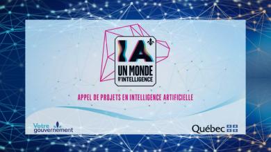 Appel projets Intelligence Artificielle Québec