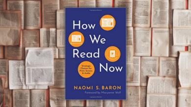 """How we read now"", Naomi S. Baron"